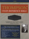 KJV Thompson Chain - Regular Size - Bonded Leather Black