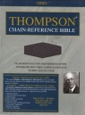 KJV Thompson Chain - Handy Size - Bonded Leather Burgundy