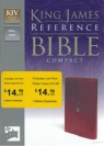 KJV - Compact Reference Button Flap Edition