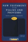 KJV New Testament with Psalms & Proverbs - Blue Flexisoft/Magnetic Flap