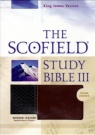 KJV - Scofield Study Bible III, Basketweave Thumb-Indexed