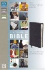 NIV - Thinline Bible Black Bonded Leather