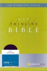 NIV Thinline Bible Navy Bonded Leather (1984 Edition)