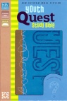NIV Youth Quest Study Bible: Kiwi/Wave Blue Duo-Tone