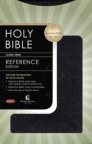 NKJV  - Reference Bible Black Bonded Leather