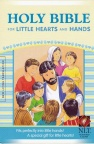 NLT - Holy Bible for Little Hearts and Hands Blue