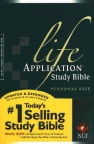 NLT Life Application Study Bible, Personal Size Paperback