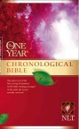 NLT One Year Chronological Bible Premium Slimline Large Print