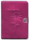 NLT Pink Metal Bible, He Loves Me