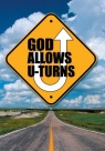 God Allows U-Turns - (Pack of 25)