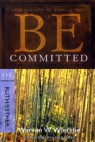 Be Committed - Ruth & Esther - WBS